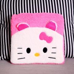 卡通图案保暖舒适办公室坐垫 100/箱 粉色卡通猫 35*35cm