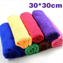 超细纤维纳米洗车毛巾/擦车巾 30*30cm 3000PCS 混色 30*30CM
