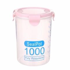 透明密封罐 储物罐(96个/箱)个 1000ml北欧粉 见详情