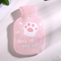 布套热水袋 欢乐猫 R-9304 --160/箱 粉色 见详情