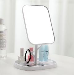 可旋转台式化妆镜838 白色 见详情