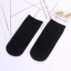 春夏季女士柔软丝袜钢丝袜 黑色 均码