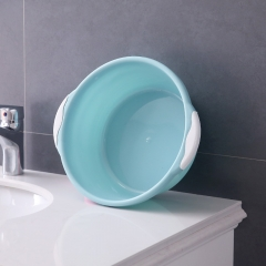 塑料双耳脸盆 洗菜盆-小号 100/箱 北欧蓝 30*11*21cm