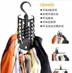 多变彩色魔术衣架 100个/箱 黑色 46.5*32cm