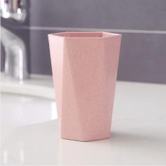 菱形洗漱刷牙杯 500个/箱 粉色 洗漱杯