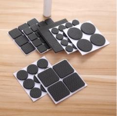 防滑防噪音桌脚垫 方形 16个装