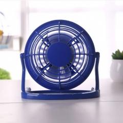 USB塑料4寸迷你小风扇 蓝色 15*8.5*14cm