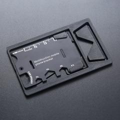 户外多功能军刀卡 工具卡(黑色) 1000PCS 黑色 4.5*6.8CM