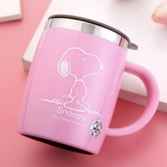 史努比保温杯5002-48/箱 粉色 420ML