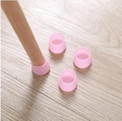 硅胶桌椅套桌脚垫桌腿保护套椅子保护垫凳子静音椅脚垫10个/包整包卖 粉色 见详情