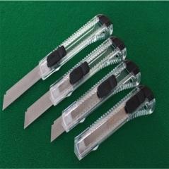 透明壳美工刀(500个/箱) 透明 3.6X15X1cm