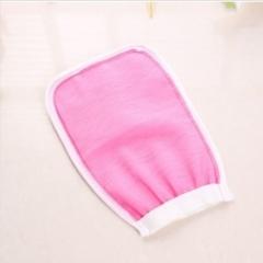 单面搓澡手套  2000/件 粉色 宽14cm 长22cm