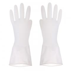 轻型洗碗手套 pvc手套 无图案 L码