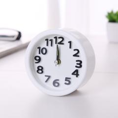 圆形闹钟 W611k 200个/箱 白色 9.2*4cm