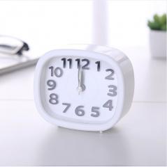 长方形闹钟 W610K 9.5*8.5*4cm 白色 9.5*8.5*4cm