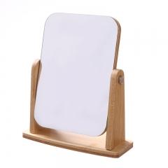 旋转木板镜 木质化妆镜 旋转方形 见详情