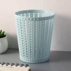 桌面垃圾桶 360/箱 11.5*8.5*13.5cm 蓝色 11.5*8.5*13.5cm