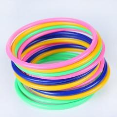 实心圈 游戏套圈圈 游戏投掷套圈(混色) 1000/箱 混色 直径12cm