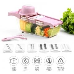 厨房多功能切菜器10件套 28/箱 蓝色 见详情