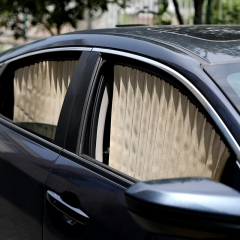 汽车遮阳帘磁铁窗帘 银色 见详情