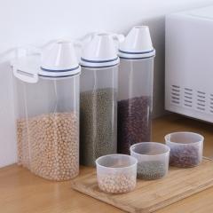 密封杂粮罐米桶手柄波浪款  (44个/箱)个
