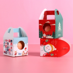 开窗方形圣诞盒苹果盒--混款 1600/箱