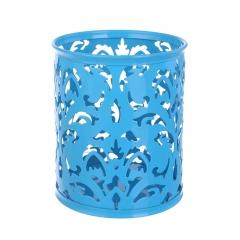 树藤笔筒 圆形   96/箱 圆形蓝色 1