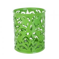 树藤笔筒 圆形   96/箱 圆形绿色 1