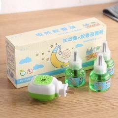 驱蚊液蚊香液1器+3液套装