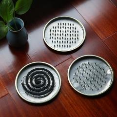 夏日易清洗蚊香盘防火蚊香托盘(钉子支架)200个/箱